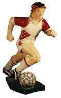 """Figur """" Fußballspieler"""" Höhe76cm"""