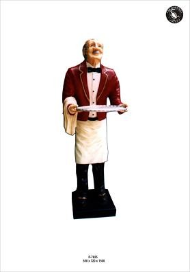 """Butlerfigur """" Opa Butler"""" Höhe150cm"""