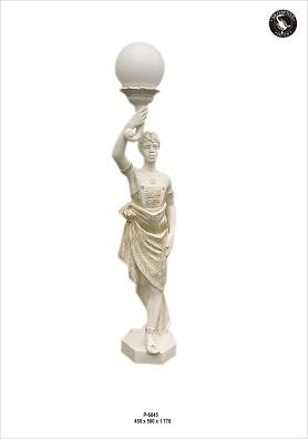 "Figurenlampe "" Orient"" Höhe 180cm"