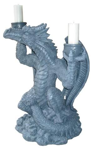 Exklusive Drachenstandfigur